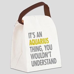 Aquarius Thing Canvas Lunch Bag