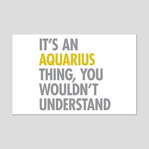 Aquarius Thing Mini Poster Print