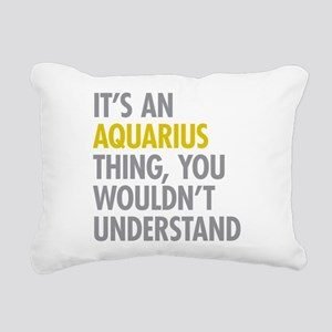 Aquarius Thing Rectangular Canvas Pillow
