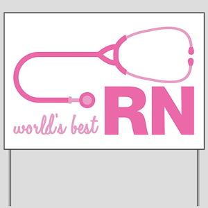 World's Best RN Yard Sign