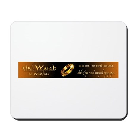 The Watch Mousepad