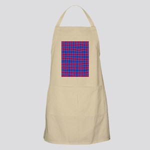 Blue And Red Apron