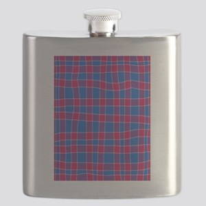 Blue And Red Flask