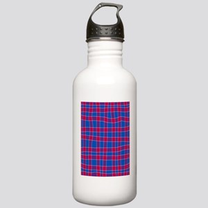 Blue And Red Stainless Water Bottle 1.0L