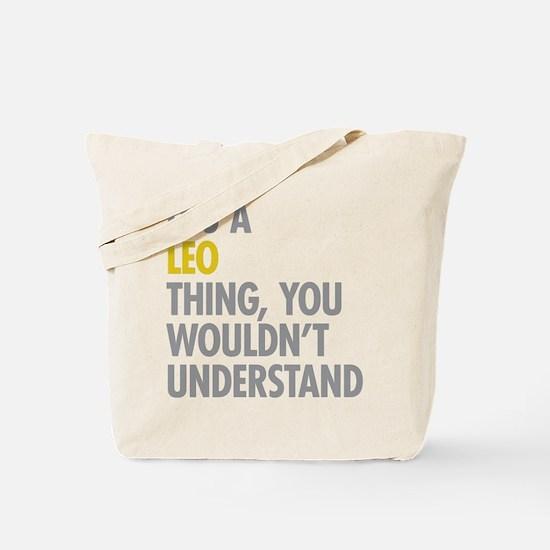 Leo Thing Tote Bag