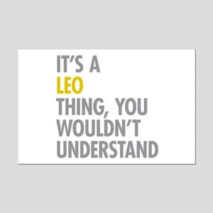 Leo Thing Mini Poster Print