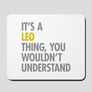 Leo Thing Mousepad