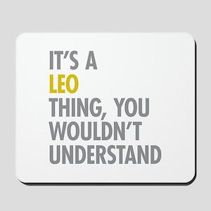 Leo Thing Mousepad