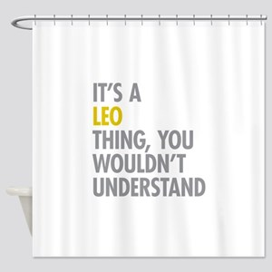 Leo Thing Shower Curtain
