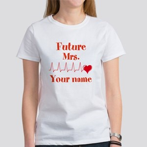 Personalizable Future Mrs. __ Women's T-Shirt