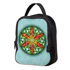 Celtic Summer Mandala Neoprene Lunch Bag
