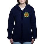 Celtic Summer Mandala Women's Zip Hoodie