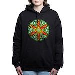 Celtic Summer Mandala Women's Hooded Sweatshirt