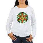 Celtic Summer Mandala Women's Long Sleeve T-Shirt