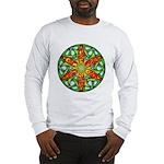 Celtic Summer Mandala Long Sleeve T-Shirt