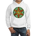 Celtic Summer Mandala Hooded Sweatshirt