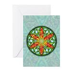 Celtic Summer Mandala Greeting Cards (Pk of 10)