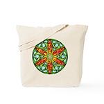Celtic Summer Mandala Tote Bag