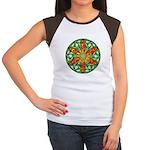 Celtic Summer Mandala Women's Cap Sleeve T-Shirt