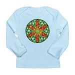 Celtic Summer Mandala Long Sleeve Infant T-Shirt