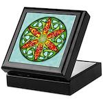 Celtic Summer Mandala Keepsake Box