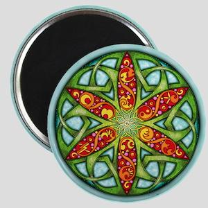 Celtic Summer Mandala Magnet