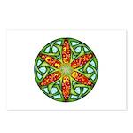 Celtic Summer Mandala Postcards (Package of 8)