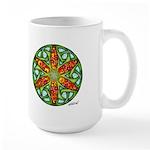 Celtic Summer Mandala Large Mug