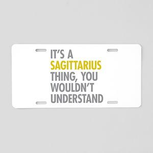Sagittarius Thing Aluminum License Plate