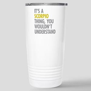 Scorpio Thing Stainless Steel Travel Mug
