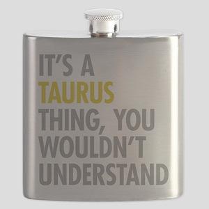Taurus Thing Flask