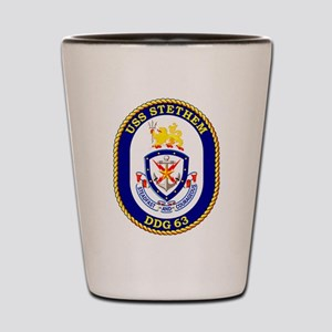 DDG-63 USS Stethem Shot Glass