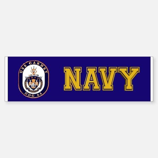 DDG-64 USS Carney Sticker (Bumper)