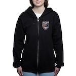 USS FISKE Women's Zip Hoodie