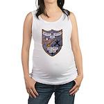 USS FISKE Maternity Tank Top