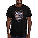 USS FISKE Men's Fitted T-Shirt (dark)