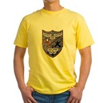USS FISKE Yellow T-Shirt