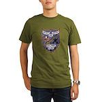 USS FISKE Organic Men's T-Shirt (dark)