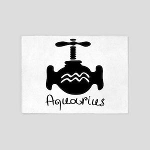 Aquarius 5'x7'Area Rug