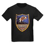 USS FISKE Kids Dark T-Shirt