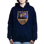 USS FISKE Women's Hooded Sweatshirt