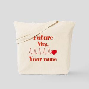 Personalizable Future Mrs. __ Tote Bag