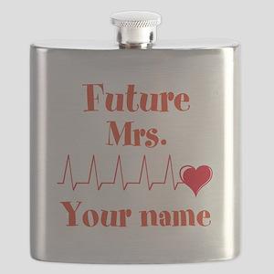Personalizable Future Mrs. __ Flask