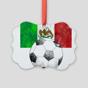 Mexico Futbol Ornament