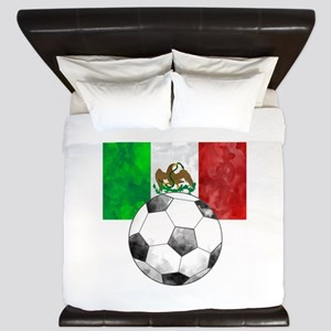 Mexico Futbol King Duvet
