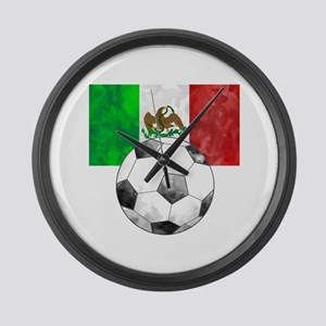 Mexico Futbol Large Wall Clock