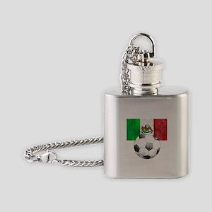 Mexico Futbol Flask Necklace
