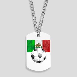 Mexico Futbol Dog Tags