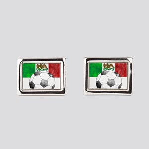 Mexico Futbol Rectangular Cufflinks