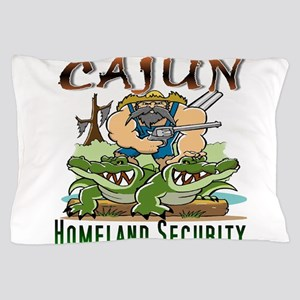 Cajun Homeland Security Pillow Case